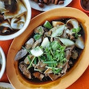 Mixed platter for 2 pax consists of  Braised Duck Meat, Intestine, Pork Belly, Egg, Tofu, Tau Pok and Fish Cake with add on Braised Peanuts and Salted Veg.