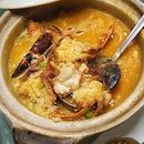 Live Boston Lobster Fragrant Rice in Seafood Broth