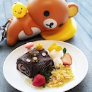 Rillakuma Honey Forest Chocolate cake