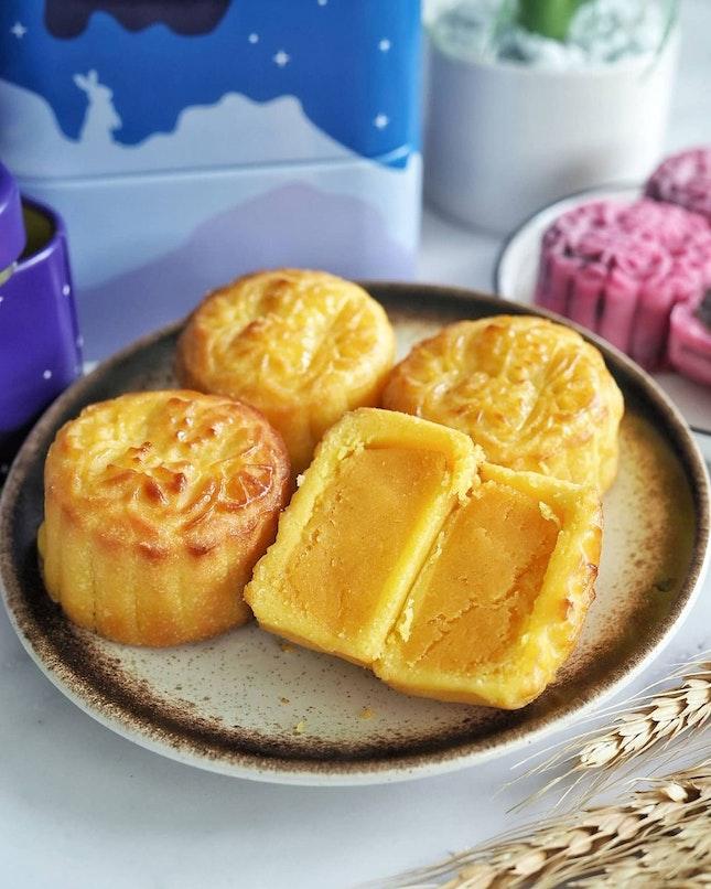 Mini Baked Custard Mooncake