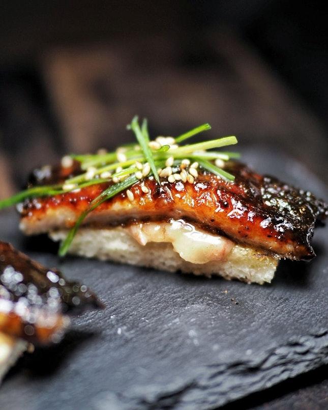 Eel Toast
