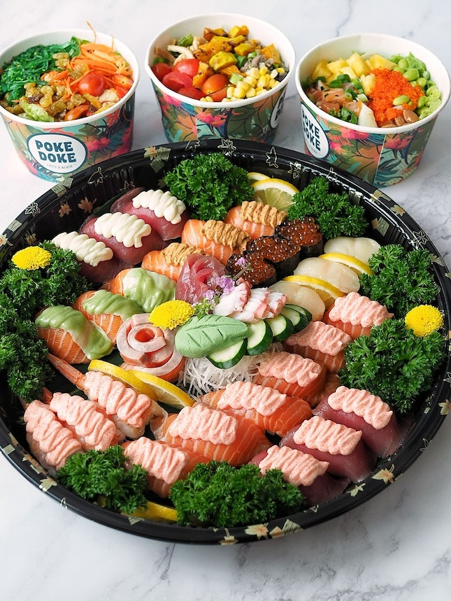 Home-buri Party Platter