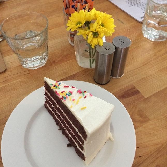 red velvet cake 🍰