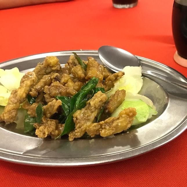 Fried Butter Mantis Prawn (RM15/26/38)