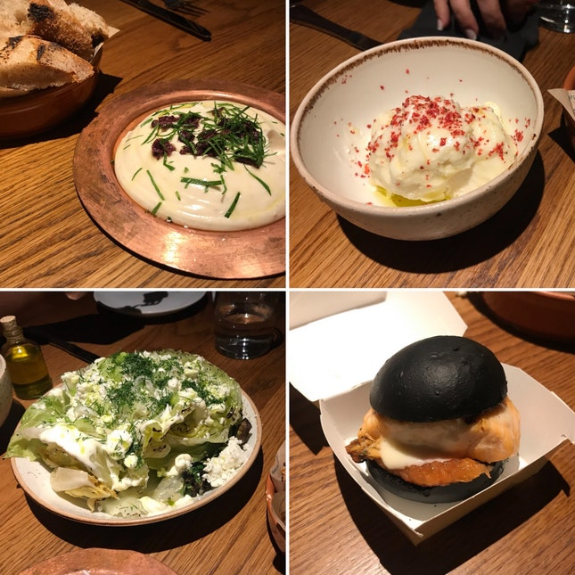 Delicious Modern Greek Food (average pp £30-40)