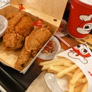 Spicy Chickenjoy Combo