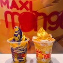 MAXI Mango  Location 🗺: 13 Stamford Road, #B2-29, Capitol Piazza, Singapore 178905  MRT 🚇: City Hall  Opening Hours 🕒: -  Rating 📈: 6.5/10  Price 💸: $6.90 (each)  Review 💬: The soft serve itself had a rich mango flavour, but the taste was pretty one-dimensional as it was just sweet, and a little too sweet - for me - at that.