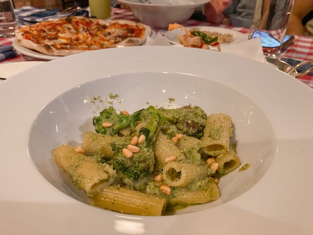 Rigatoni Pesto Di Broccoli