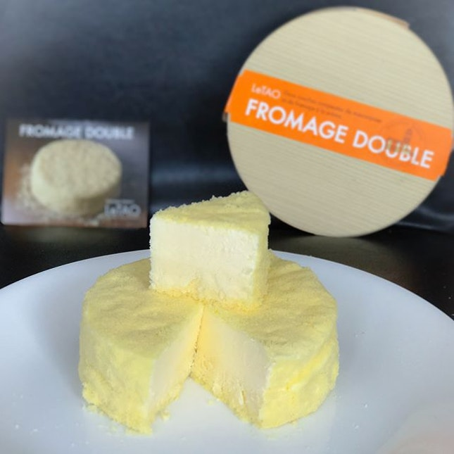 Double fromage cheesecake [$28] The signature and most popular flavour here, this cake comprises of double layers of cheesecake- baked at the bottom and non-baked atop.