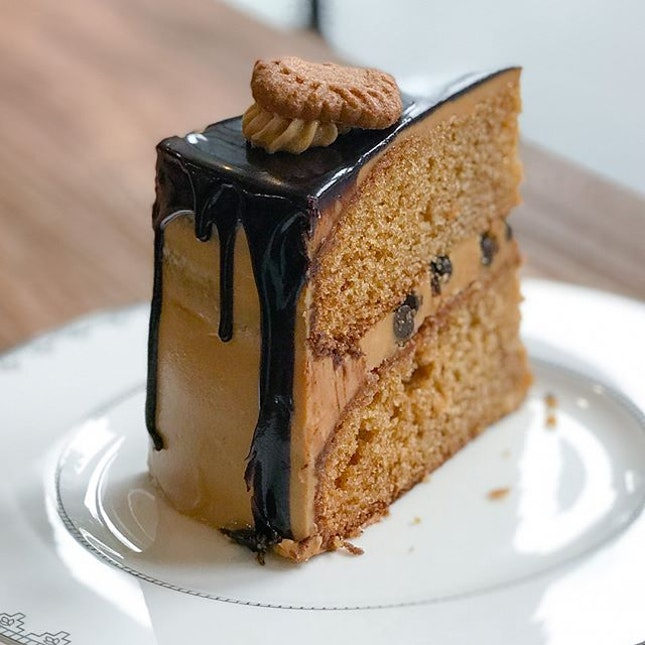 Speculoos chocolate cake // .