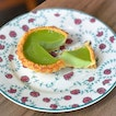 Pandan egg tart [$1.90]  As usual the tart crust did not disappoint - crisp, crumbly with a lingering buttery fragrance.