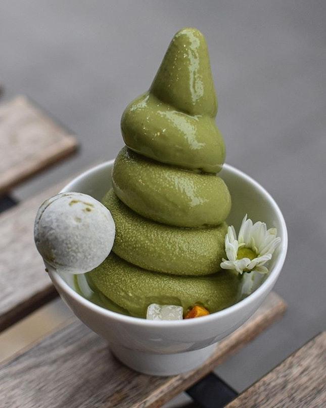 1️⃣Sobok Green tea ice cream[5200KRW ~> $6.25] 2️⃣Sobok ice cream [5200KRW~>$6.25] .