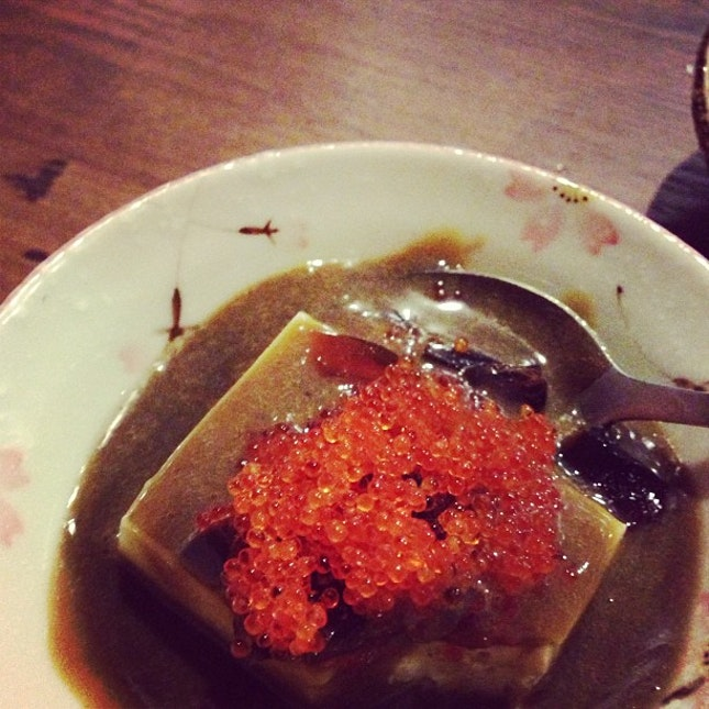 Century egg tofu oh my god #food #fusion #japanese #love