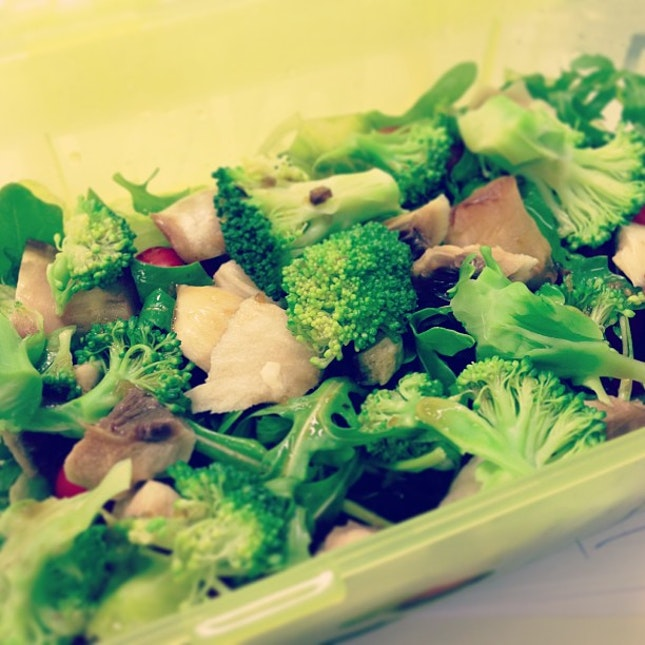 Day 2 of #salad for #dinner.