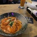 Seafood Chilli Crab Pasta