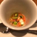 Tomato Soup & Cheese Starter