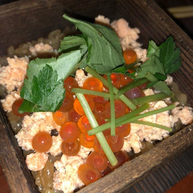 Salmon Steam Rice