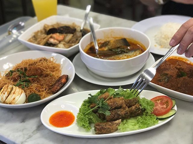 Had Peranakan for Lunch.