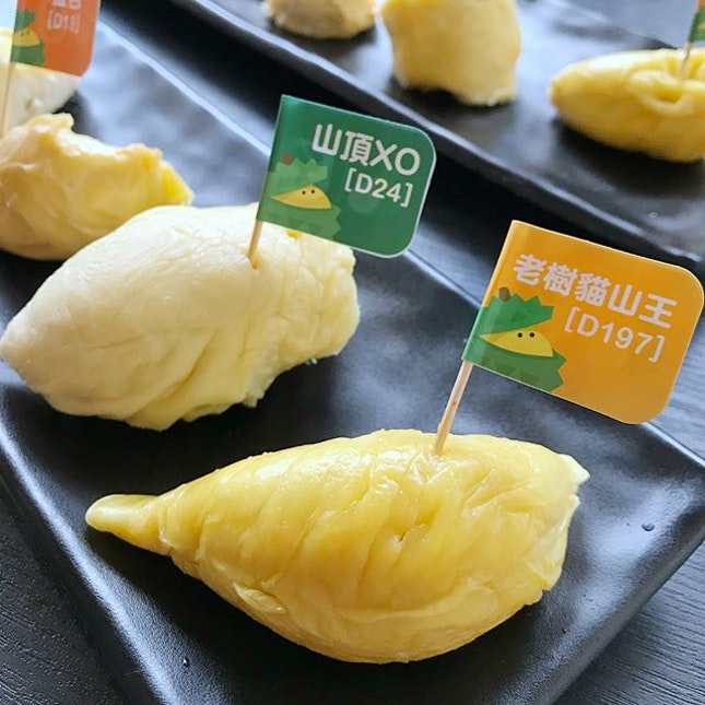 [jelly星期三] It's a yummi-licious Saturday last weekend as I participated in @DurianBB.sg very first Durian Party in Singapore held at Agrobazaar, along Sultan gate.