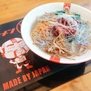 I'm not sure if they're still selling it, but this limited edition Wagyu A5 ramen created specially for Ramen Nagi's first anniversary in Singapore was pretty good.