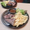 "Iberico Presa Steak ($19.80): The poster said it is the ""wagyu of pork""."