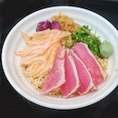 Salmon and tuna chirashi don ($9.90): Unbelievably good chirashi don at an equally unbelievable wallet-friendly price!