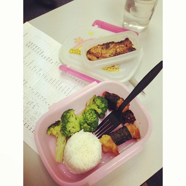 #whitagram my #lunchbox prepared by my mom #food