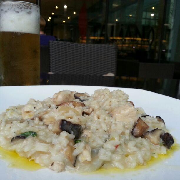 Mushroom & Chicken Risotto