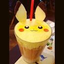 TGIF w Pikachu Ice Latte!!