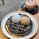 Charcoal Waffles
