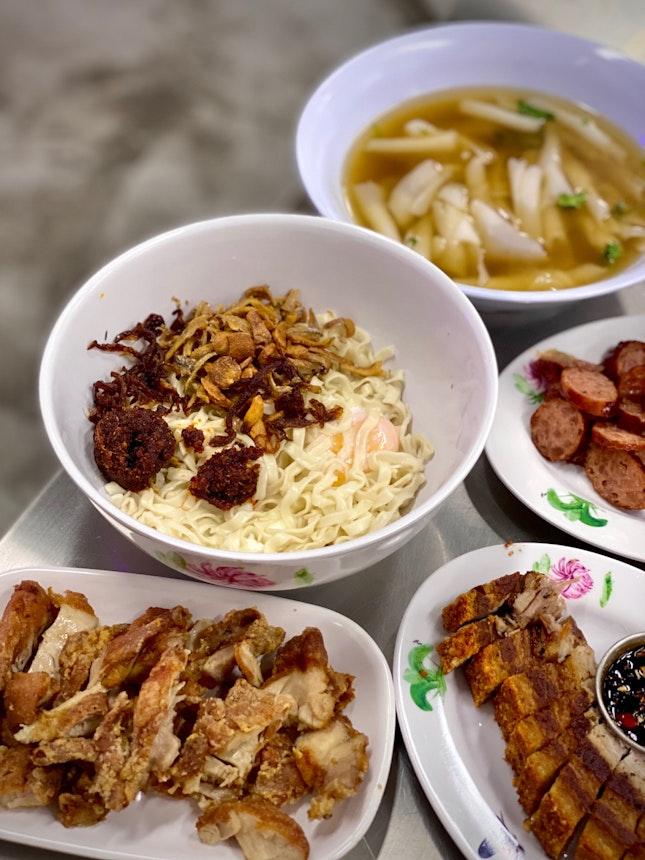 Chilli Pan Mee X Thai Kway Chap