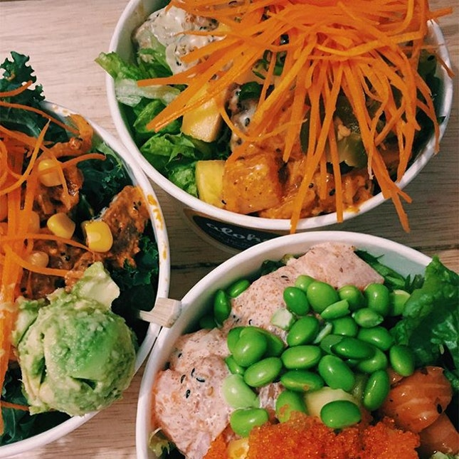 I've been trying all kinds of poke recently and i still feel the OG; Aloha Poke is still the one to beat in SG.