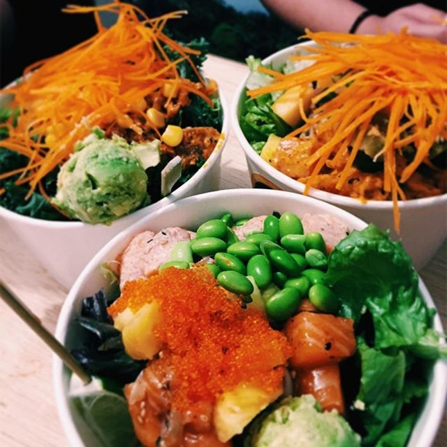 """""""I can shoyu the woooorld"""" • Aloha Poke is still by far my favourite joint for poke bowls."""