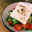 Who would pay $20.90 for a hella basic Greek salad?