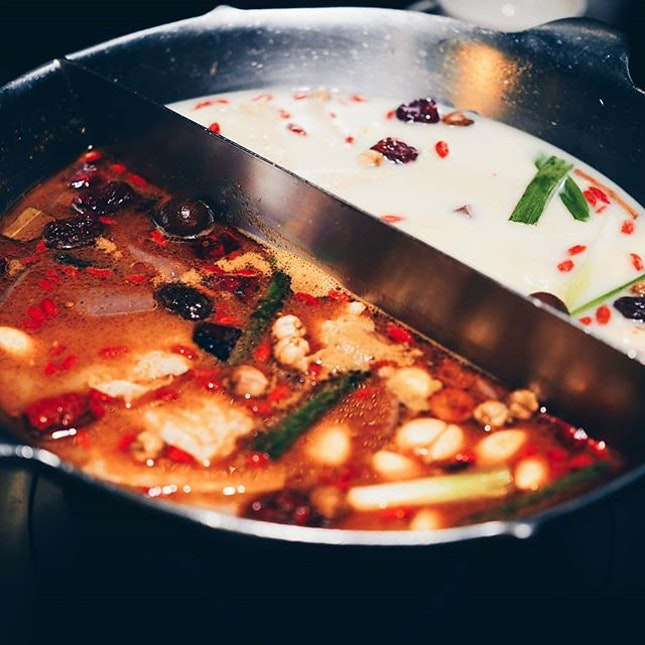 I thought the hot pot game in Singapore was strong until Elixir Health Pot 無老鍋 in Taipei blew my mind.