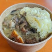 Lad and Dad might be known for their kick-ass beef stew, but their chicken stew ($8) is no slouch as well.