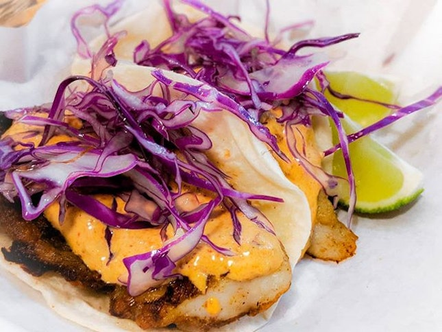 Newly opened @papistacos_sg serves up one of the most authentic tacos I've had in Singapore.