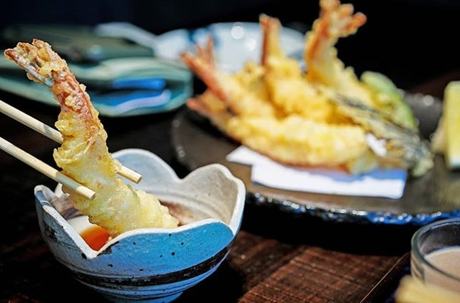 At Ginza Kuroson, you should forget crudites, this is the only thing you should be dipping.