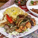 If you're planning to dine at Byblos Grill, you have to order the Mixed Grill ($38.90 for 2 pax or $75.90 for 4) which includes Lamb Kofta (Marinated Minced Lamb), Lahem Mashwi (Charcoal Grilled Lamb Cubes), Chicken Kofta (Marinated Minced Chicken) and Shish Tawok (Marinated Chicken Breast) along  with rice and fresh vegetables.