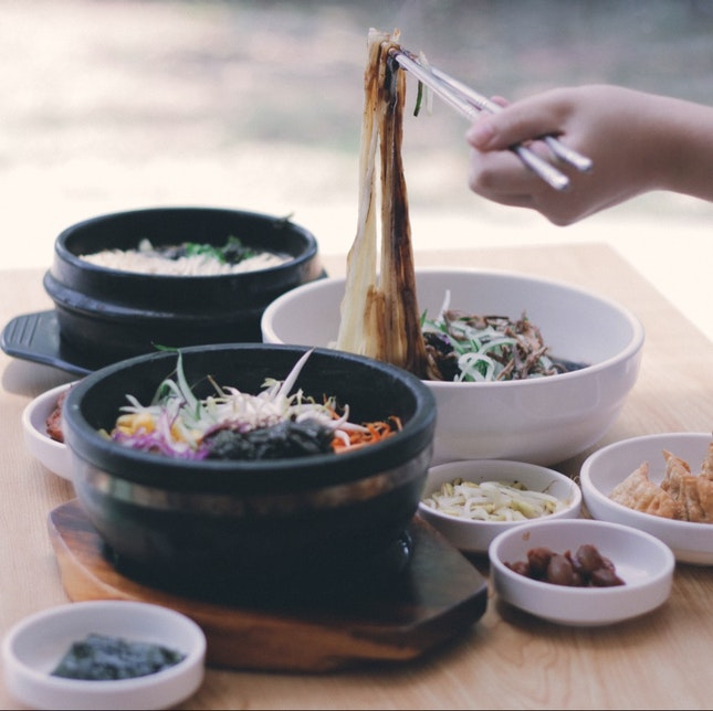 Peaceful Korean Cuisine