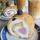 Blueberry Yogurt Swiss Roll $6.90