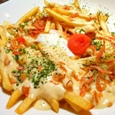 Uni Cheese Fries $14