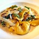 Mushroom Ravioli $28