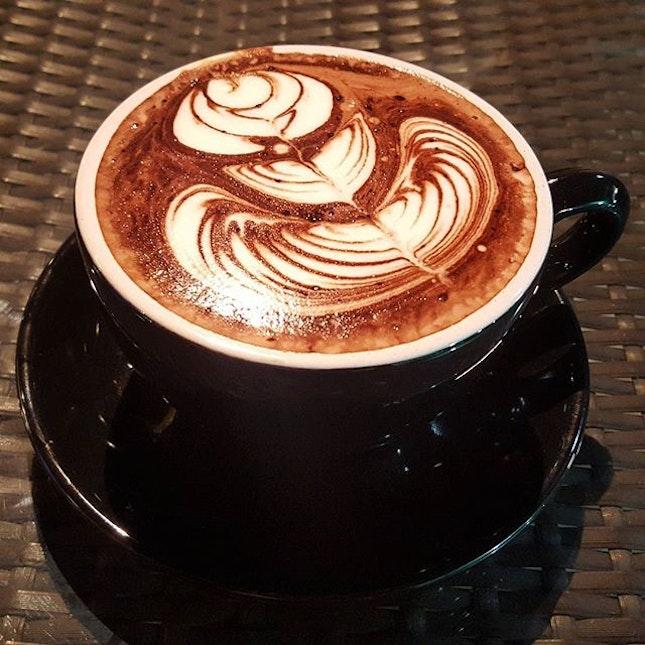 Hot Chocolate on my sick day.