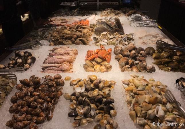 Seafood Buffet Spread