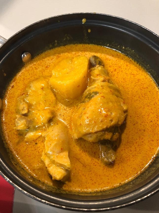 Curry Chicken Set ($5.90)