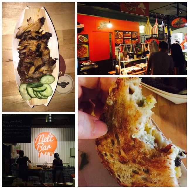 Melts bar & Keith's Crackling Roast