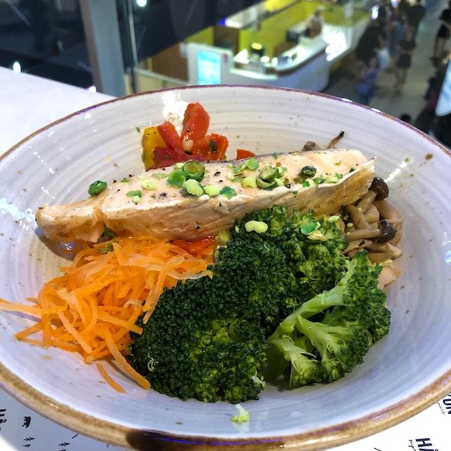 Salmon Shirataki Noodles [$13.90]