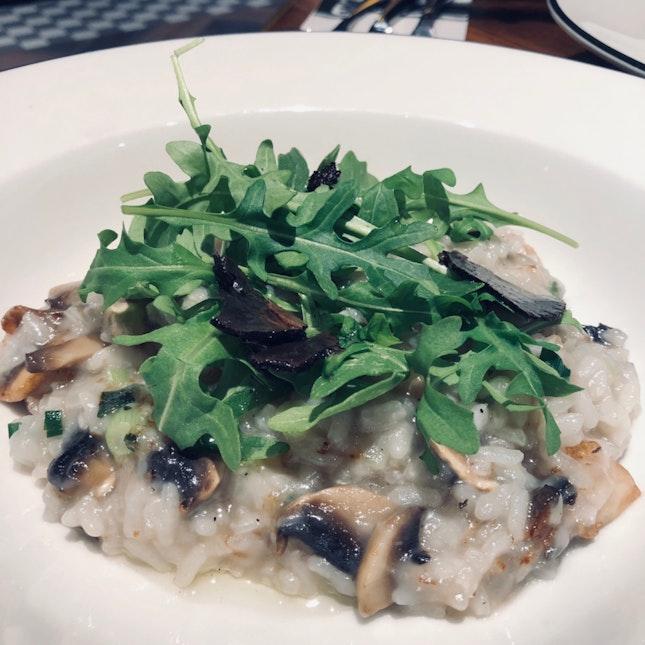 Mushroom & Black Truffle Risotto [$16++]