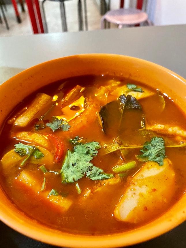 Tom Yum Soup [$6]